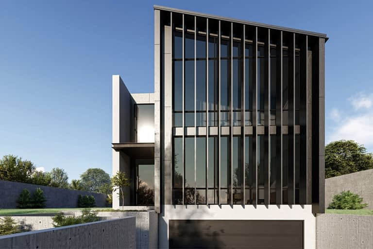 Rendering per l'architettura, villetta